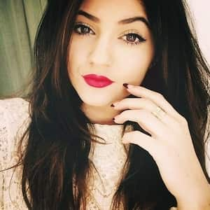 Kylie Jenner, whose lips inspired this challenge.