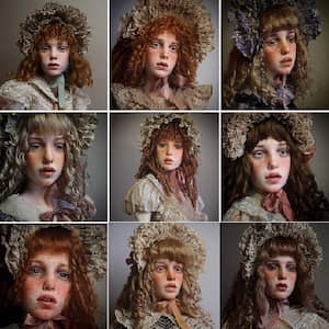 The Creepy Alive-Looking Dolls of Instagram
